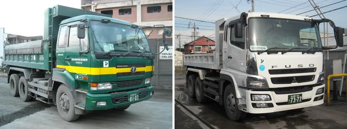 10tトラックの画像